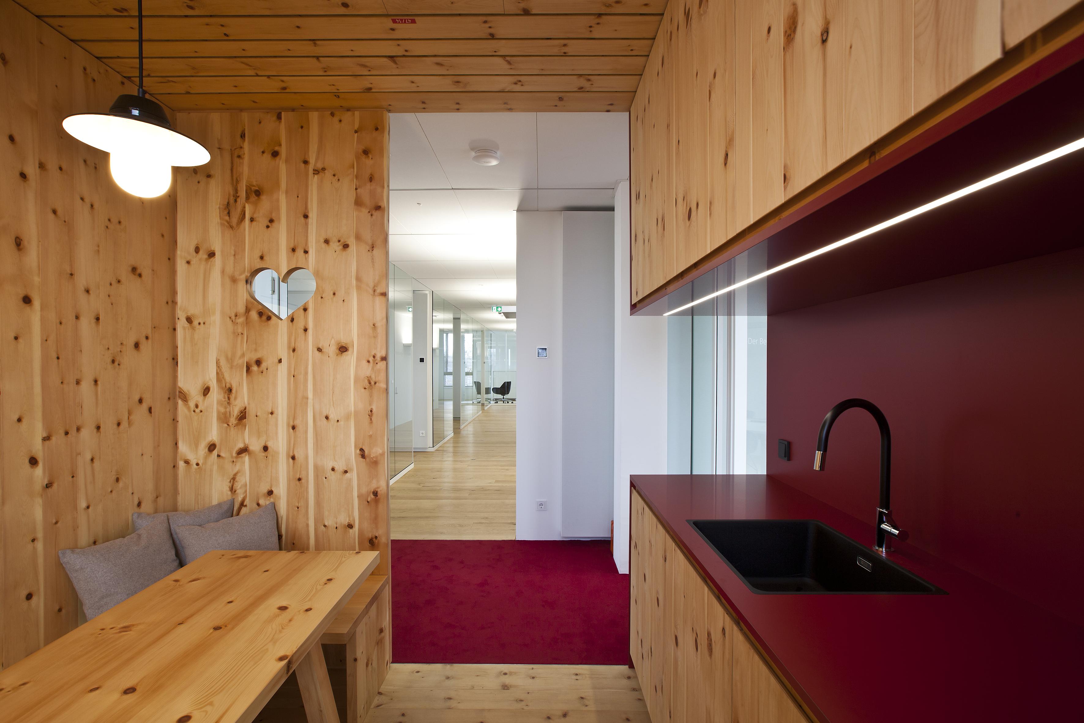 Innenarchitektur für die  GWG Reutlingen (© Foto von Hartmuth Schröder)